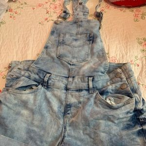 Other - Acid wash overalls